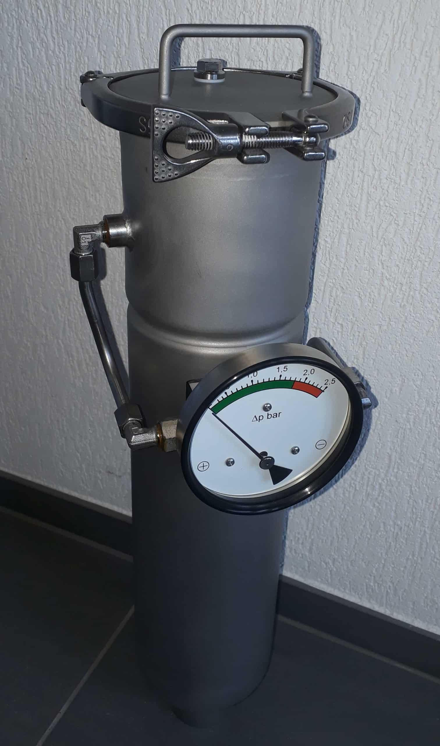 Filtergehäuse ALSI-C Differenzdruck